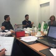 COP meeting in Frankfurt