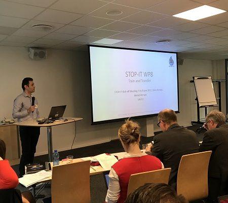 Mehdi Ahmadi at the STOP-IT meeting in Oslo 2017