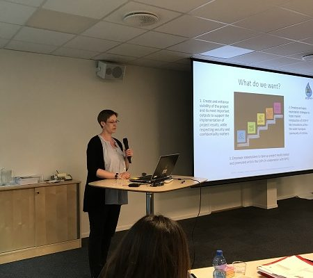 Lisa Zimmermann at the STOP-IT meeting in Oslo 2017