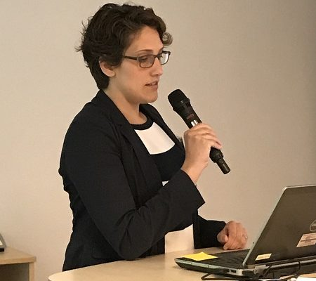 Juliane Koti at the STOP-IT meeting in Oslo 2017